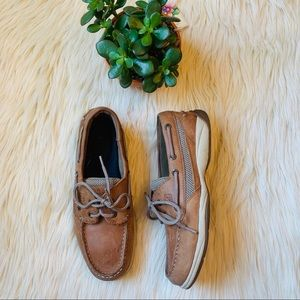 Sperry leather brown shoes size 8